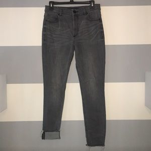 Express Jeggings - Gray